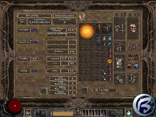 Diablo II: Baldur´s Gate mod 1.05
