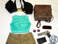 Oblečení a výbava Lary Croft