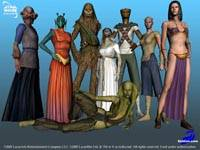 Star Wars Galaxies - screenshoty