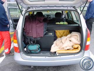Speciální lůžková úprava v Opel Astra Caravan