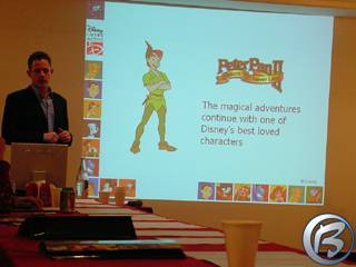 Mark Hardy prezentuje připravovanou hru Peter Pan 2: Return to Never Land