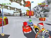 Toon Car - vánoční demo