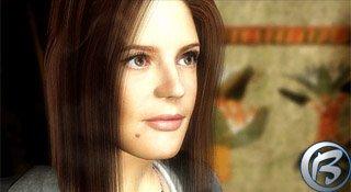 Renderovaný obličej Chiary Mastroianni je skutečně fantastický.