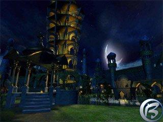 Zahrada mocného kouzelníka opět z pohádky Tisíce a jedné noci.