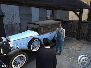 Tommy (vlevo) a Ralf (vpravo) ve čtvrté misi české hry Mafia