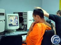 Mnich z Chiang Mai