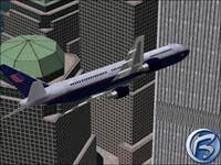 Boeing 767 nad Manhattanem