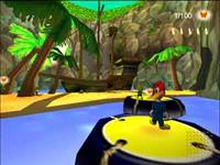 Woody Woodpecker: Escape from Buzz Buzzard Park - screenshoty
