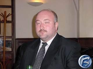 Ing. Slavomír Pavlíček na tiskové konferenci firmy Cenega, červen 2001