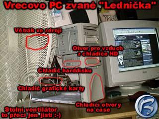 Vrecovo PC zvané Lednička