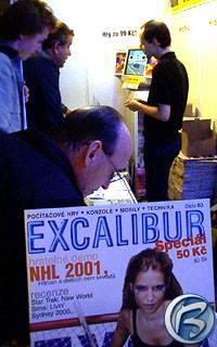 Nový Excalibur a Martin Ludvík coby jeho prodejce