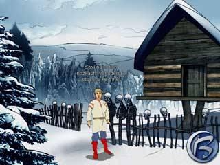 Chaloupko, tak je mi vhod! K lesu zády, ke mně čelem ať je tvůj vchod!