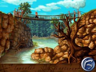 Jednu scénu s provazovým mostem jsem už někde viděl...