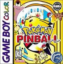 Pokémon Pinball - obal hry