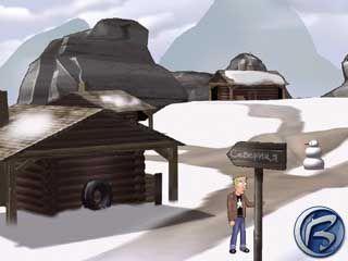 V horské vesničce na Sibiři se setkáte se svým kolegou Bondem. Jamesem Bondem.