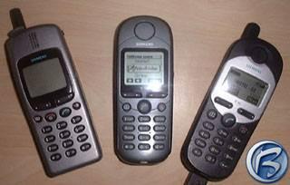 Mobilní telefony Siemens