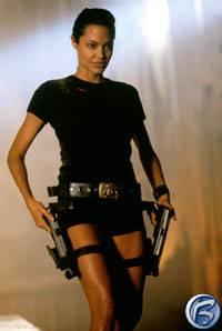 Angeline Jolie jako Lara Croft