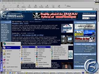 Start - menu ve Windows Millenium Edition