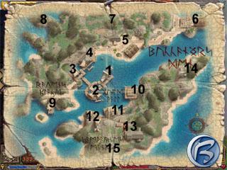 Mapka Buccaneer's Denu