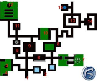 Mapka dungeonu Hythloth