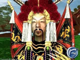 Čínský kněz je vskutku elegantně oblečen...