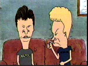 Beavis and Butt-Head Bung Hole in One