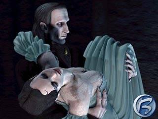 Dracula: Resurrection - chudinka Mina ve spárech knížete Drákuly