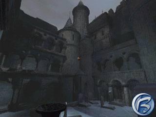 Dracula: Resurrection - Drákulův zámek v celé své kráse... Brrrrrr