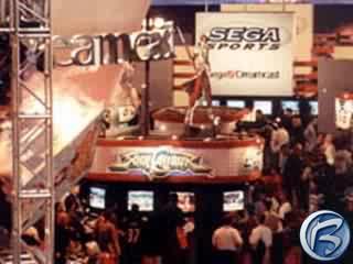 Pohled na výstavní plochu veletrhu E3