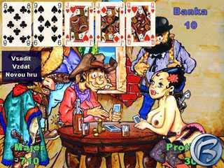 V pokerové mezihře můžete svého protihráče doslova svléct z kalhot... ééé, tedy ze sukně