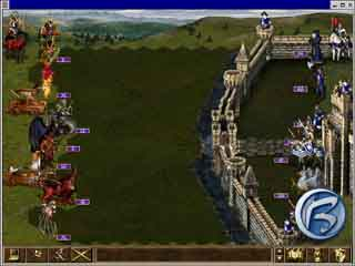Heroes of Might and Magic III - Bitva