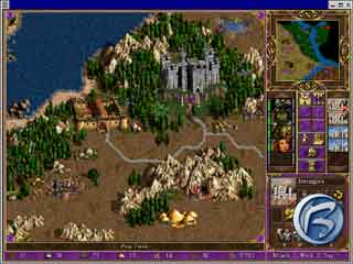Heroes of Might and Magic III - Mapa