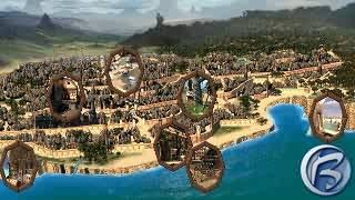 Nádherná mapa města Marcuria s vyznačenými lokacemi, které můžete navštívit