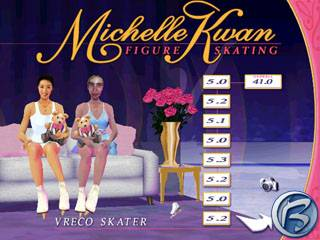 Michelle Kwan Figure Skating