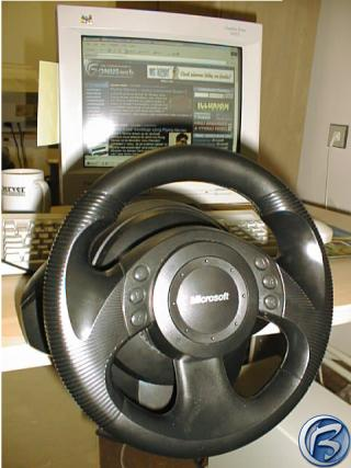 Microsoft Precision Racing Wheel