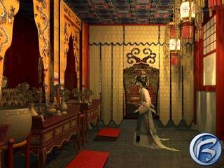 Během celé hry se vám bude zjevovat duch zmizelé Lotus Spring.