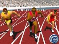 Sydney 2000 - sprint na 100m