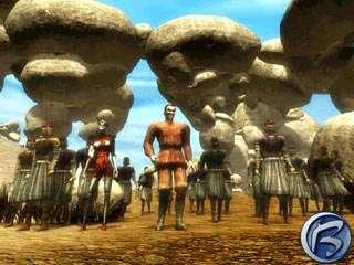 Wales se skupinou rebelů se připravují k útoku na Hourglass City