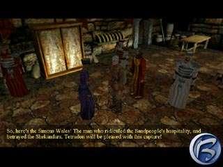 Krátká návštěva u vládce Hourglass City vyústila v naštěstí stejně krátký pobyt v base