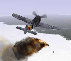 Exploze a kouř jsou na kvalitní grafické kartě a ve vyšším rozlišení naprosto realistické