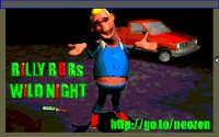 Billy Bob's Wild Night