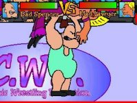 C.W.F. – komiksový wrestling