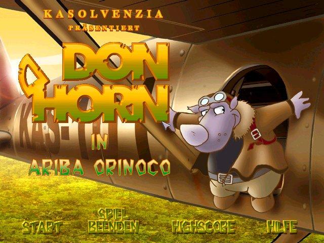 Don Horn in Orinoco
