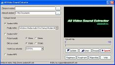 All Video Sound Extractor - větší obrázek z programu