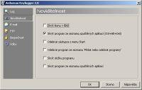 Ardamax Keylogger - větší obrázek z programu
