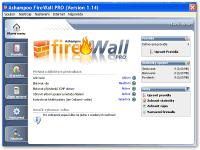 Ashampoo FireWall - větší obrázek z programu