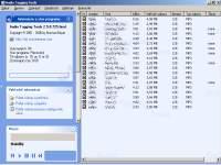 Audio Tagging Tools - větší obrázek z hlavního okna programu