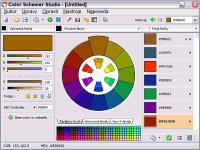Color Schemer Studio 1.1 - větší obrázek z programu