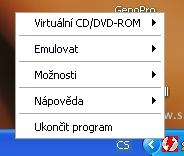 DAEMON Tools - obrázek z programu