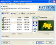 Extreme Thumbnail Generator - větší obrázek z programu